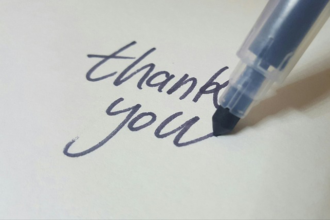 VP Trish: Kindness, Appreciation & Generosity